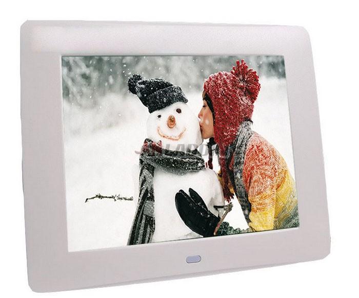 8 inch digital photo frame with digital calendar - Anladdin.com