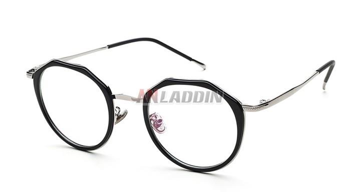 Ultralight irregular prescription glasses frames - Anladdin.com