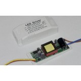 1-25W segmented LED driver for double color temperature LED lights
