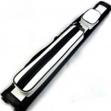 1/2 black + white American billiards cue case