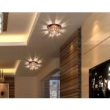 1-3W minimalist Mini Crystal LED ceiling lights