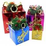 10-25cm Christmas tree decoration gift box