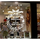 100 * 60cm glass Christmas stickers