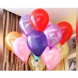100pcs 1.2 ~ 1.8g 10 inch wedding balloons