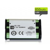 104 Ni-MH rechargeable battery pack 3.6V 850mAh