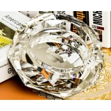 10 ~ 25cm round crystal ashtray