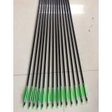 10 pcs 80cm aluminum arrows bolts