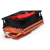 10CM dual copper heat pipe graphics card fan