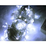 10M 100pcs white LED Christmas lights