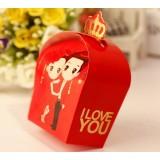10pcs Chinese style wedding favor box