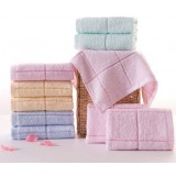 10pcs minimalist cotton towels