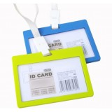 10pcs PP horizontal style I.D card holders