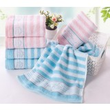 10pcs stripe style cotton towels