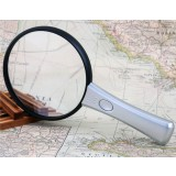 10X - 20X LED handheld reading magnifying glass