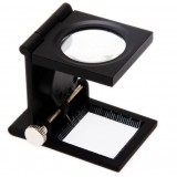 10X Portable metal mini magnifier