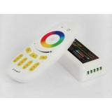 12-24V RGB 2.4G Wireless Smart Touch Remote Controller for LED Strip Lights