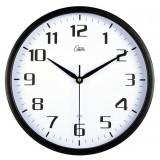 12 inch Minimalist black wall clock