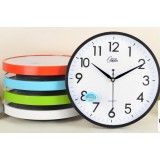 12 inch round office wall clock