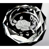12cm ~ 20cm Rose K9 crystal ashtray