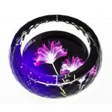 12cm ~ 30cm round K9 crystal ashtray