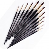 12pcs pointed nylon paintbrush set