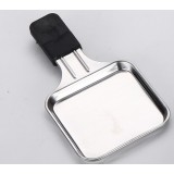 14.5 * 9.5cm Mini stainless steel barbecue plate