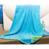 140 * 70cm solid color cotton bath towel