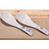 14cm painted ceramic spoon