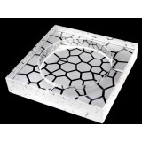 15cm ~ 25cm stone grain square crystal ashtray