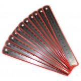 15cm double-sided stainless steel ruler