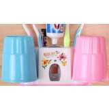 16.7 ~ 22.3cm dustproof multifunction toothbrush holder