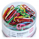 160pcs multi-colored paper clips