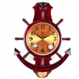 16 to 20 in. rudder wall clock