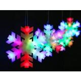 16cm 4pcs Snowflake Christmas LED lights