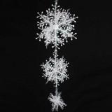 17-32cm 6pcs Christmas snowflake pendant