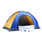 1 person single layer classic camping tent with skylights