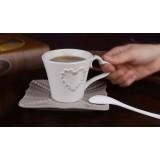 200ml relief style ceramic mug