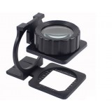 20X Full Metal folding magnifier
