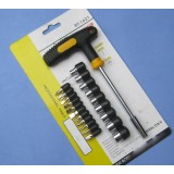 21 sets handle screwdriver / home Repair Tools