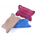 23 * 35cm suede nap inflatable pillow