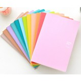 25.5cm minimalist solid notebook