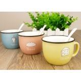 250ml cartoon style ceramic mug