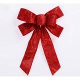 25cm Christmas bows