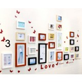 25pcs good mood photo frames set