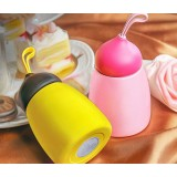 260ml Cute stainless steel children's cup