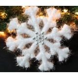 26cm Christmas snowflake