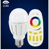2.4G Smart Dimmable 6W E27 5630 SMD LED ball bulbs