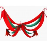 2.6M Cross Wave Christmas hanging flags