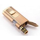 2 in 1 Cleanable windproof lighter + cigarette holder