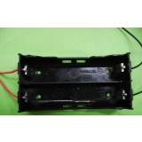 2pcs 18650 3.7V parallel Battery Case